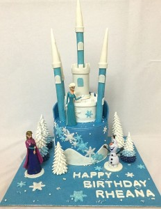Rheana's  Birthday Cake Frozen Theme