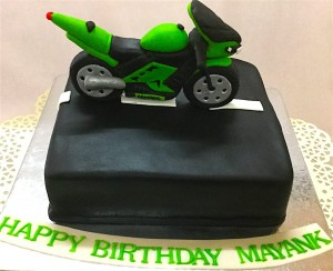 Mayank's Bike Birthday Cake