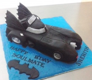 Batmobile Car Cake 2  kg