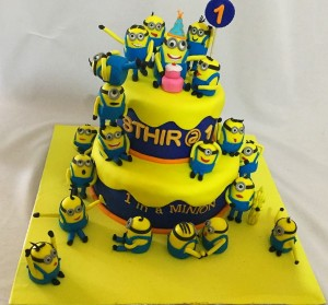Minions and Minions Cake 3kg