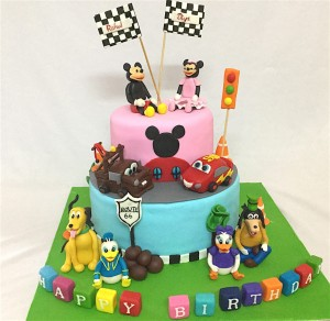 Birthday cake - Mickey theme Cake