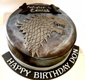 Winter is coming Don Cake 1 kg