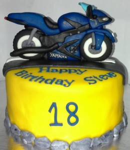Superbike Customized Cake 1.5 kg