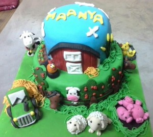 Manyas Farm Animal Cake - 2 kg