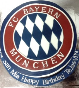 Birthday Cake Bayern Football Club