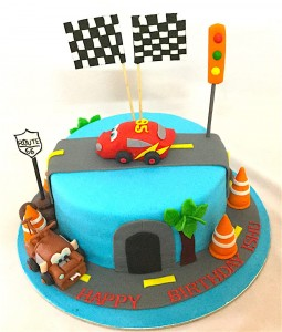 Ishu's Birthday Cake Carz theme