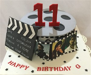 Movie Fan Cake 1.5 Kg