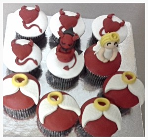Angels & Devils Cup Cakes - 10  nos