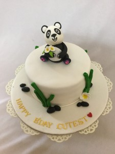 Cutest Panda Birthday cake