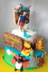 Dora Backpack Birthday Cake