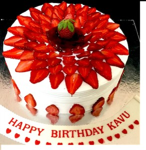 Strawberry  Cake - 1 Kg