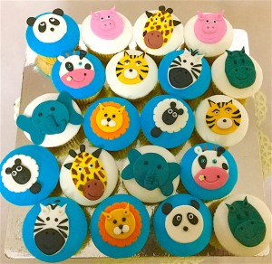 Animal Theme Cup Cakes - 10 nos