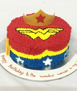 Wonder Woman Buttercream Cake 1kg