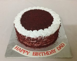 Red Velvet Cream Cake 1kg