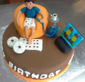 Hukka Chill Birthday Cake
