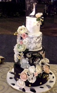 Designer Wedding Cake Floral theme