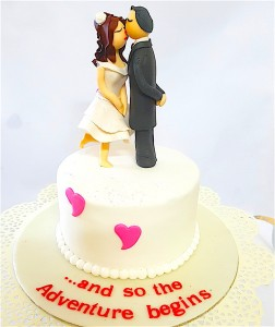 Adventure of Love  Valentine  Cake 1 kg