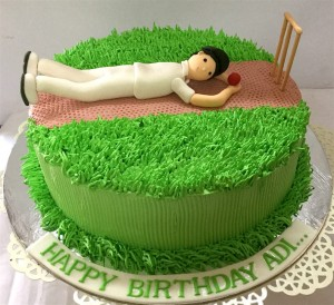 Adi's Birthday Cricket Cake - 1 kg