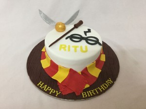 Miras Birthday Cakes Harry Potter Theme Cake Customized Cakes