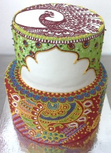 Wedding Cake Mehndi Design 3 kg