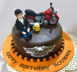 One Down 4 Up Bike Cake 1.5 kg