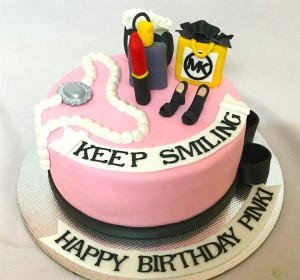 Keep Smiling Birthday Cake