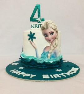 4th birthday Frozen cake 1.5kg