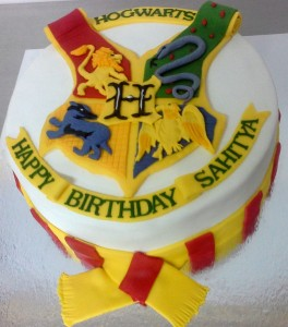 Birthday Cake Hogwarts Theme