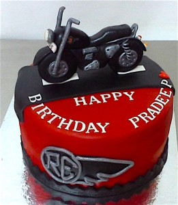 RE Custom Bike Cake 1.5 kg