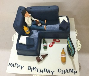 Happy Birthday Champ Cake 1.5kg