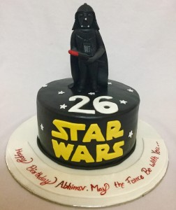 Starwars theme Birthday Cake