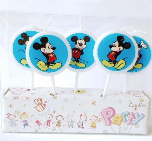 Mickey Theme Birthday Party Candles.jpg