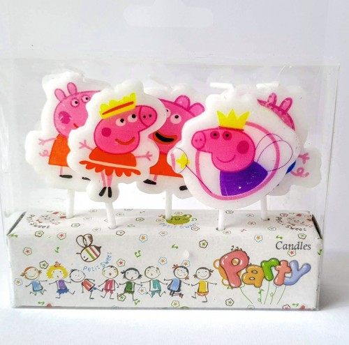 Peppa Pig Theme Birthday Party Candles.jpg