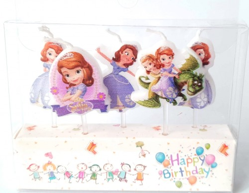 Sofia Theme Birthday Party Candles.jpg