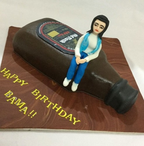 Birthday Cake for Her- Girl on Rum Bottle.jpg