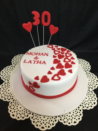 30Years of Togetherness Cake 1Kg 1850.JPG