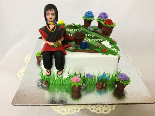 Gardening theme Birthday Cake.jpg