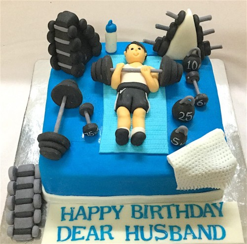 Workout in Gym Birthday Cake.jpeg